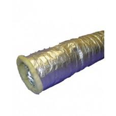 Воздуховод теплозвукоизолированный алюминиевый COHO A2  (HARD) 127