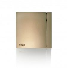 (Soler & Palau) Вентилятор накладной SILENT-100 CRZ CHAMPAGNE DESIGN-4C c Таймером