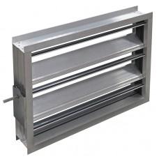 Алюминиевый воздушный клапан  1000х500