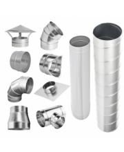 Воздуховоды и фасонные элементы из оцинкованной стали