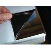 Нержавеющий лист aisi 430 толщина 0,5мм 1000х2000мм зеркало в пленке