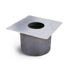короб проходной ø310 толщ. ( 0,5 мм ) нерж. зеркальная