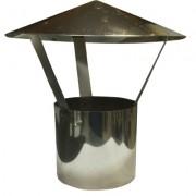 Дымоходы из нержавеющей стали зонт ø120 нерж. зеркальная толщ. 0,5мм