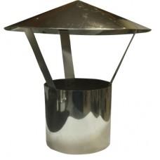 зонт ø200 нерж. зеркальная толщ. 0,5мм