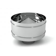 дефлектор ø120 нержавейка зеркальная толщина (0,5мм)