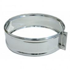 хомут соединительный ø100 толщина (0,5мм) нержавейка зеркальная