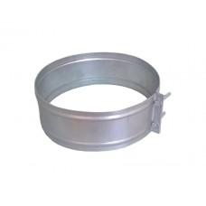 хомут соединительный ø260 толщина (0,5мм) оцинковка