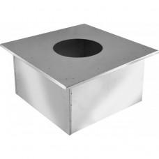 короб проходной ø380 (ппу) толщина (0,5мм) оцинковка