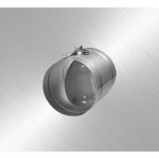 Дроссель клапан для круглых каналов Airone ДКК 125 оц.ст.