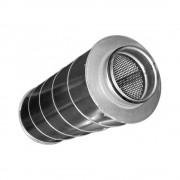 Шумоглушитель для круглых каналов Diaflex SAR 100/600