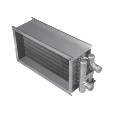 Водяной канальный нагреватель для прямоугольных каналов Shuft WHR 600x350-3