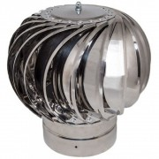 Турбодефлектор  крышный ТД 115мм нержавеющая сталь