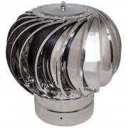 Турбодефлектор  крышный ТД 120мм нержавеющая сталь