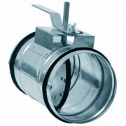Дроссель клапан для круглых каналов Арктос КВК 200 M
