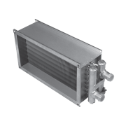 Водяной канальный нагреватель для прямоугольных каналов Shuft WHR 400x200-3
