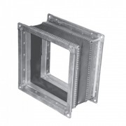 Термостойкая гибкая вставка для радиальных вентиляторов Ровен ВГТ-ВР/ВЦ-3.15-220*220