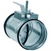 Дроссель клапан для круглых каналов Арктос КВК 100 M